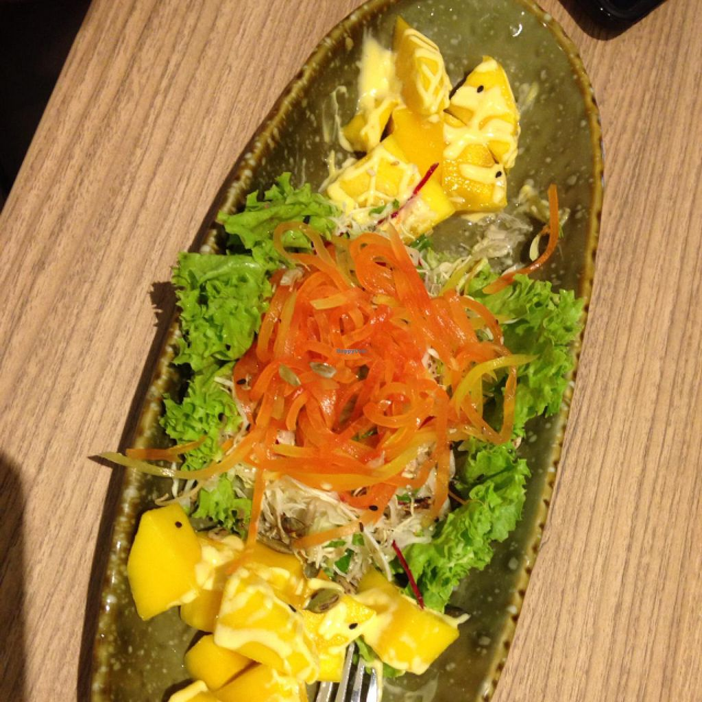 """Photo of Simple Life - Jalan Sultan Ismail  by <a href=""""/members/profile/Marina-S"""">Marina-S</a> <br/>mango salat is dressed with egg mayo. no remarks about egg in menu <br/> January 22, 2014  - <a href='/contact/abuse/image/44155/62917'>Report</a>"""