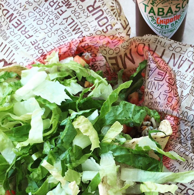 """Photo of Chipotle  by <a href=""""/members/profile/Eefie"""">Eefie</a> <br/>soft corn wraps <br/> October 20, 2016  - <a href='/contact/abuse/image/44172/183092'>Report</a>"""