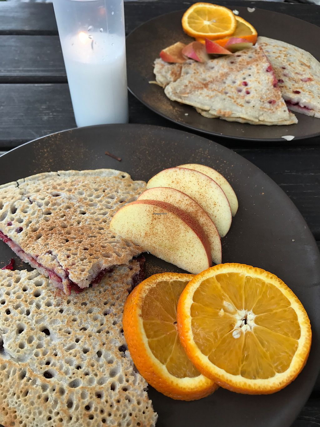 """Photo of Laibon  by <a href=""""/members/profile/AlasdairR"""">AlasdairR</a> <br/>birthday vegan pancakes !  <br/> July 16, 2017  - <a href='/contact/abuse/image/4420/281191'>Report</a>"""
