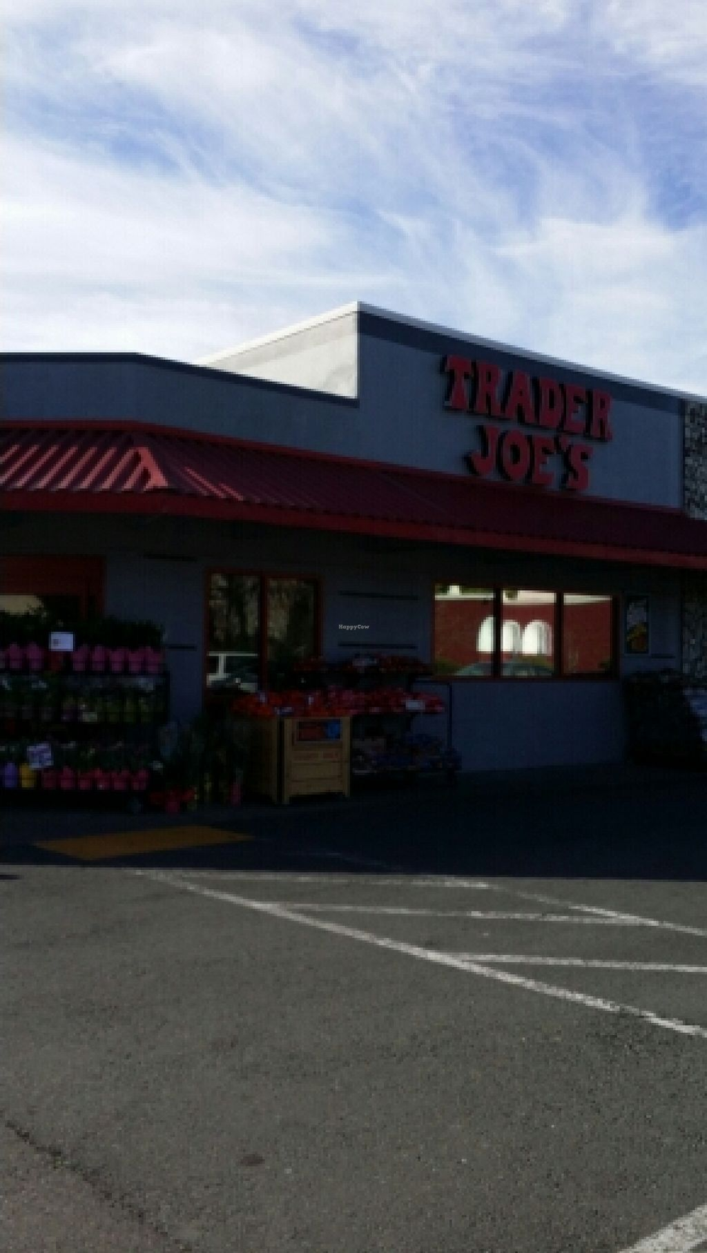 """Photo of Trader Joe's  by <a href=""""/members/profile/catbone"""">catbone</a> <br/>Storefront <br/> February 17, 2016  - <a href='/contact/abuse/image/44228/136739'>Report</a>"""