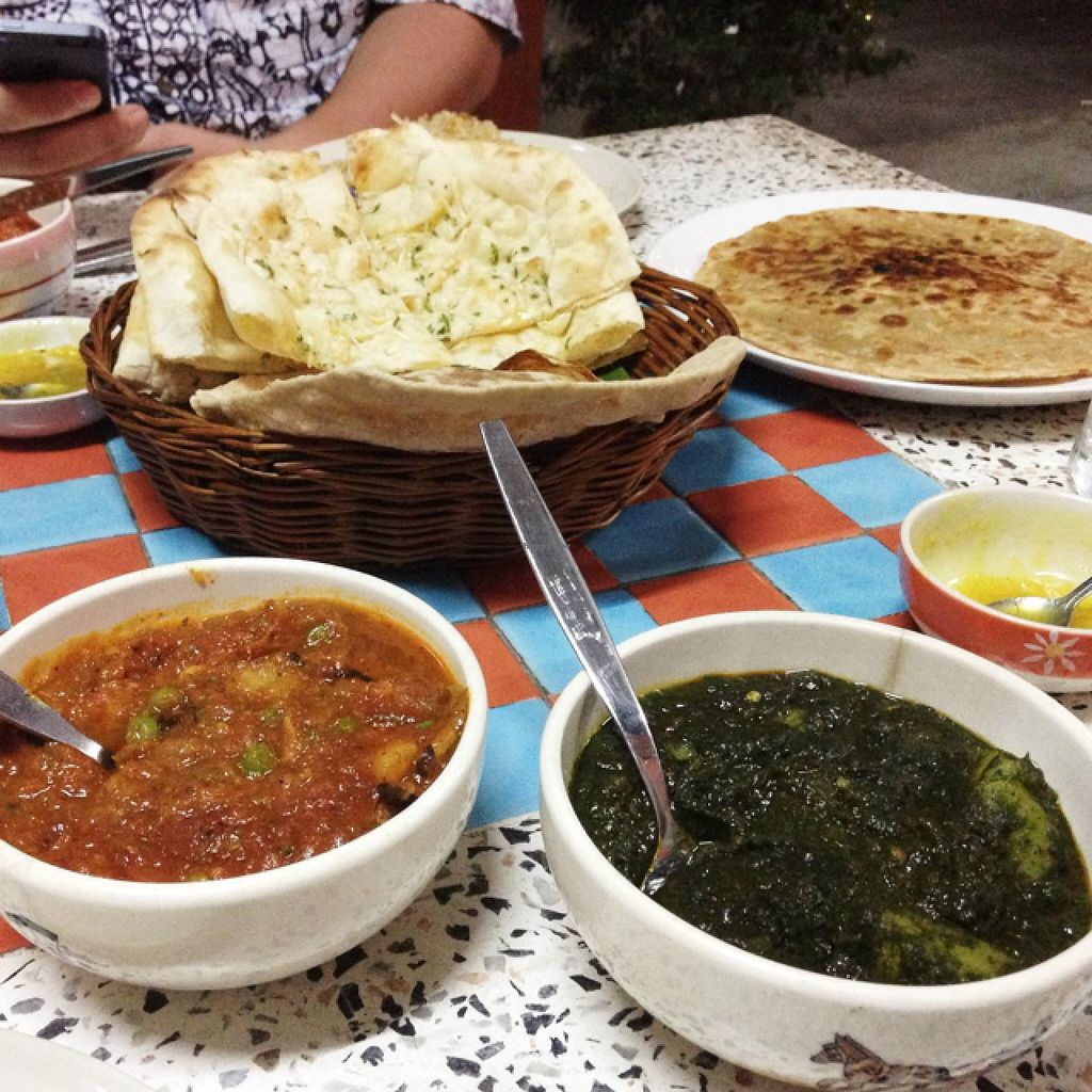 """Photo of S and S Indian Restaurant  by <a href=""""/members/profile/Marina-S"""">Marina-S</a> <br/>garlic naan, aloo parotha, vegetables in sweet and sour sause S&S style, potato and spinach in spicy sause <br/> December 31, 2013  - <a href='/contact/abuse/image/44252/61391'>Report</a>"""
