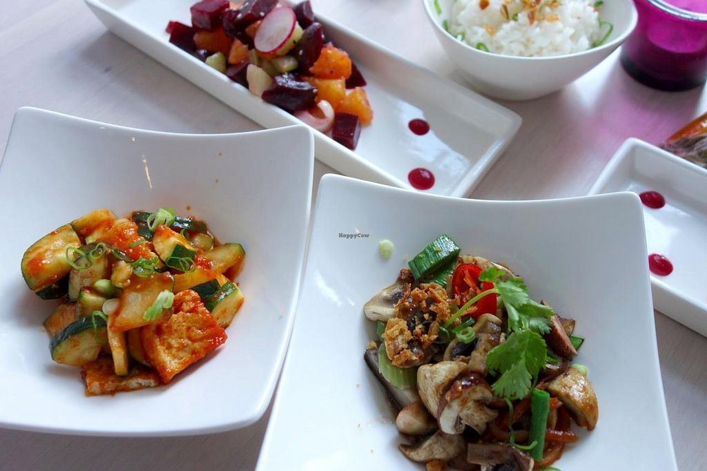 """Photo of Umami  by <a href=""""/members/profile/Gudrun"""">Gudrun</a> <br/>Vegan lunch @ Umami <br/> December 31, 2013  - <a href='/contact/abuse/image/44305/61337'>Report</a>"""