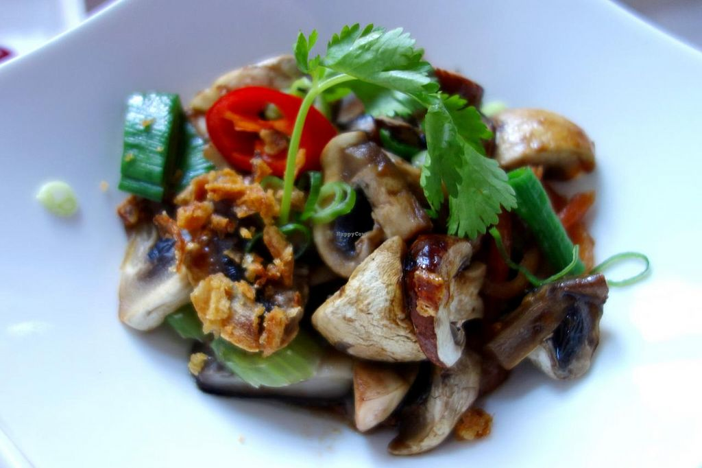 """Photo of Umami  by <a href=""""/members/profile/Gudrun"""">Gudrun</a> <br/>'Buddha Mix' - three kinds of mushrooms with celery (vegan) <br/> December 31, 2013  - <a href='/contact/abuse/image/44305/61339'>Report</a>"""