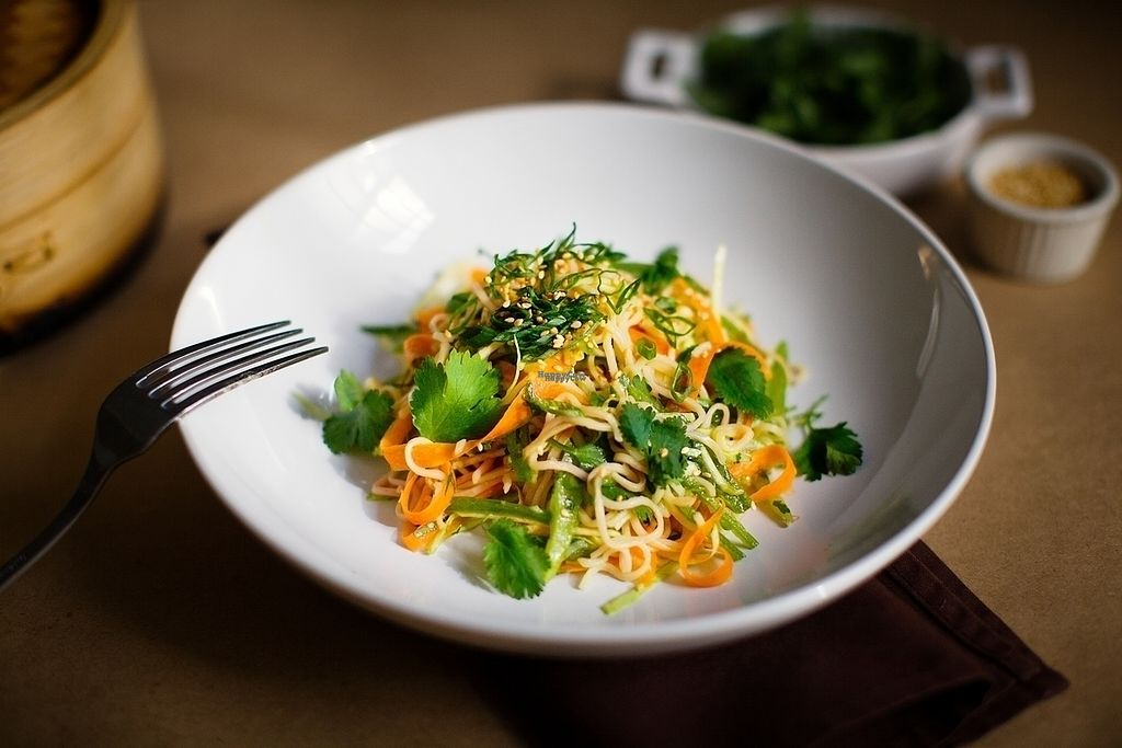 """Photo of Vegan Commissary  by <a href=""""/members/profile/VeganCommissary"""">VeganCommissary</a> <br/>Sesame veg noodles <br/> September 27, 2016  - <a href='/contact/abuse/image/44323/178229'>Report</a>"""
