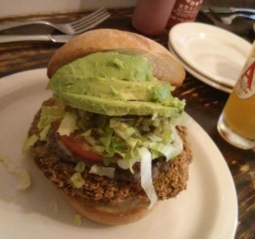 """Photo of Vegan Commissary  by <a href=""""/members/profile/RachelLouise"""">RachelLouise</a> <br/>Cemita <br/> May 9, 2014  - <a href='/contact/abuse/image/44323/223582'>Report</a>"""