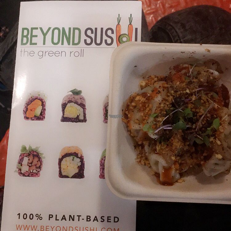 "Photo of Beyond Sushi - Chelsea Market  by <a href=""/members/profile/Hayltown"">Hayltown</a> <br/>Fun guy dumplings 10/10 <br/> October 10, 2016  - <a href='/contact/abuse/image/44365/181214'>Report</a>"