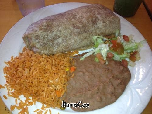 """Photo of CLOSED: Ranchos - Sunset Cliffs  by <a href=""""/members/profile/Jeff%20M"""">Jeff M</a> <br/>vegan carne asada burrito <br/> March 11, 2013  - <a href='/contact/abuse/image/4438/45325'>Report</a>"""