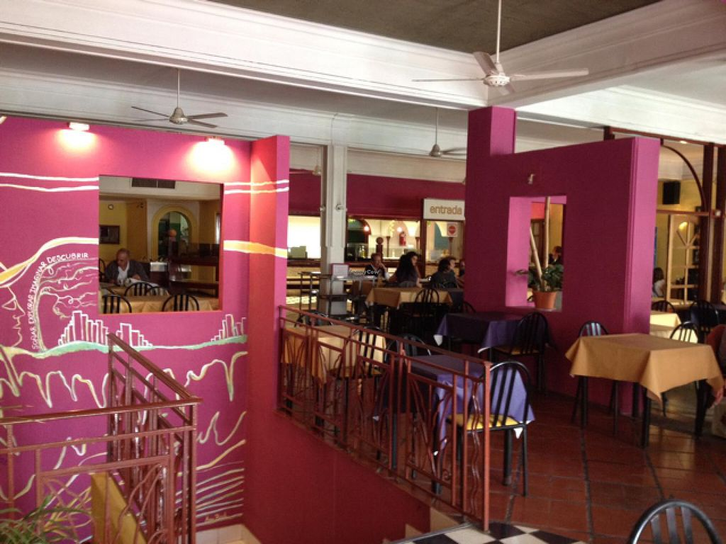 """Photo of Verde Siempre - maybe closed  by <a href=""""/members/profile/Pearlpeachy"""">Pearlpeachy</a> <br/>Nice dining area on the second level above pedestrian street <br/> March 21, 2015  - <a href='/contact/abuse/image/4439/96472'>Report</a>"""