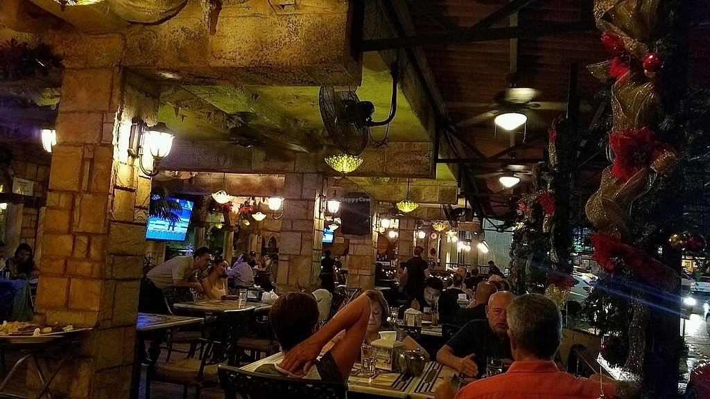 """Photo of Beirut  by <a href=""""/members/profile/eric"""">eric</a> <br/>the patio at night <br/> December 2, 2017  - <a href='/contact/abuse/image/44419/331297'>Report</a>"""