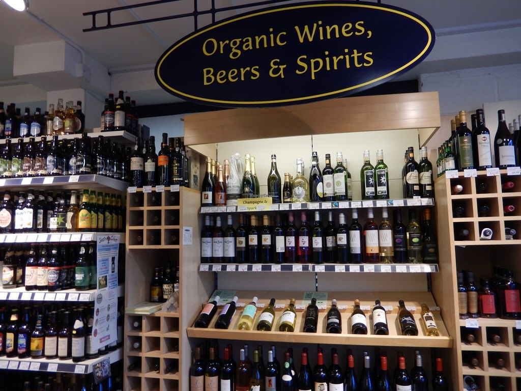"""Photo of The Natural Grocery Store  by <a href=""""/members/profile/CLRtraveller"""">CLRtraveller</a> <br/>organic wine, beer, cider <br/> August 21, 2015  - <a href='/contact/abuse/image/44432/114558'>Report</a>"""