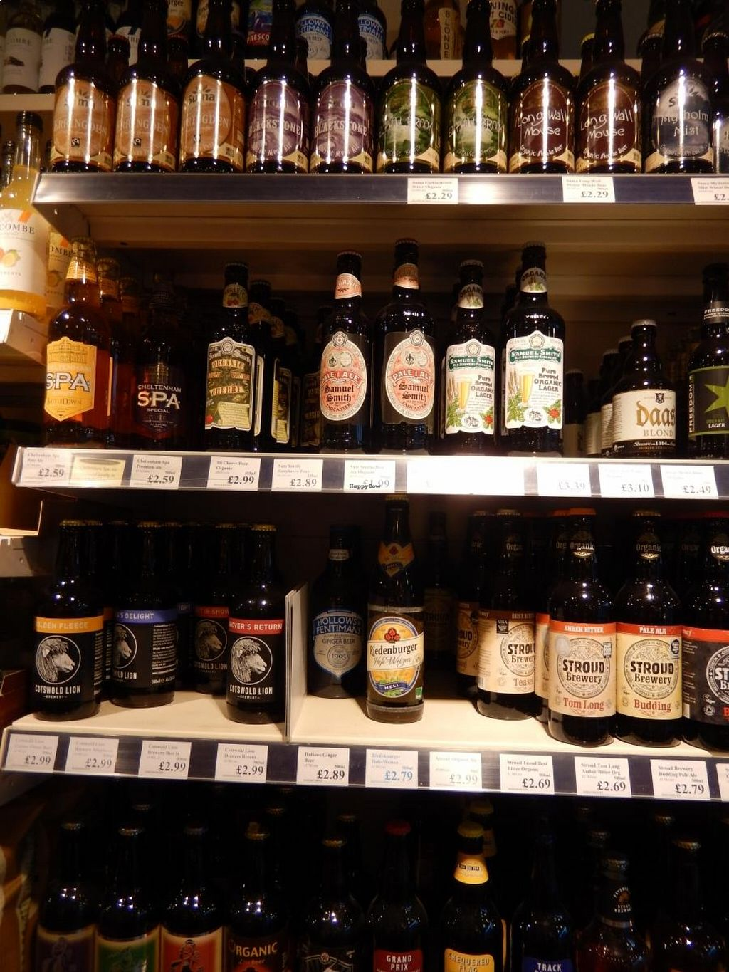 """Photo of The Natural Grocery Store  by <a href=""""/members/profile/CLRtraveller"""">CLRtraveller</a> <br/>some of the beers <br/> August 21, 2015  - <a href='/contact/abuse/image/44432/114559'>Report</a>"""