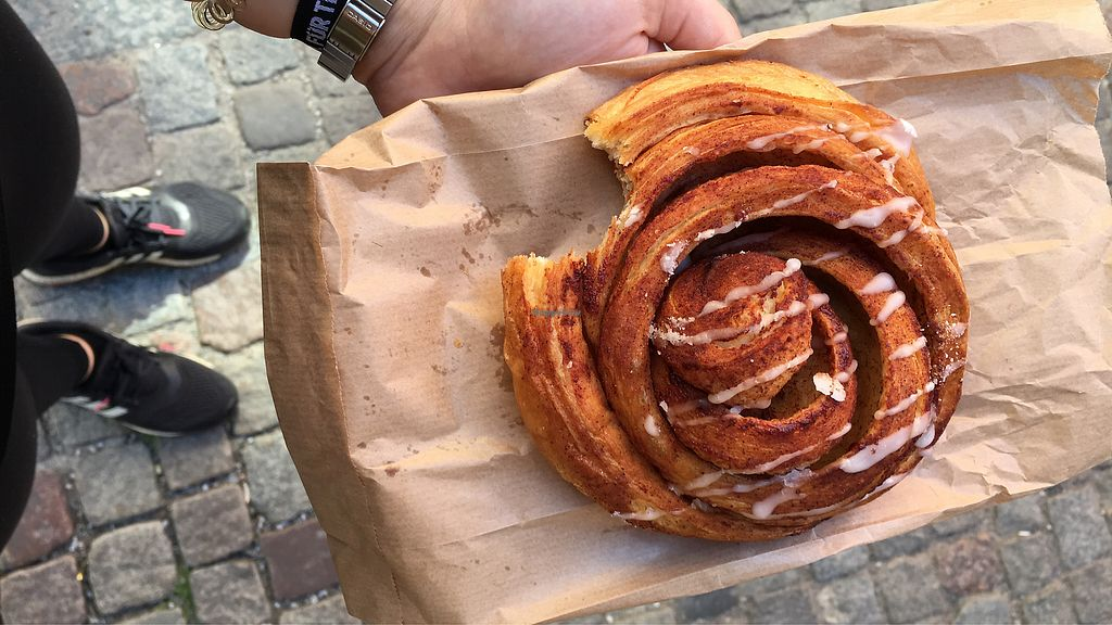 "Photo of Sattva Naturbageriet  by <a href=""/members/profile/Toristales"">Toristales</a> <br/>best cinnamon roll ever <br/> August 29, 2017  - <a href='/contact/abuse/image/4443/298661'>Report</a>"
