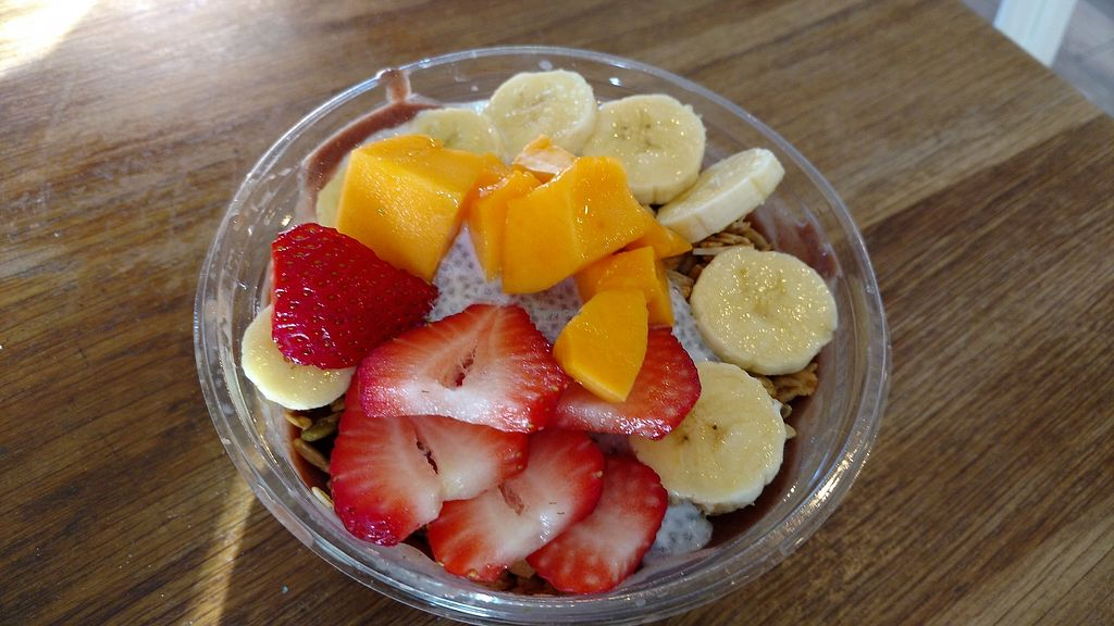 """Photo of Tucker and Bevvy  by <a href=""""/members/profile/VeganEddie"""">VeganEddie</a> <br/>Acai Bowl <br/> March 16, 2018  - <a href='/contact/abuse/image/44440/371177'>Report</a>"""