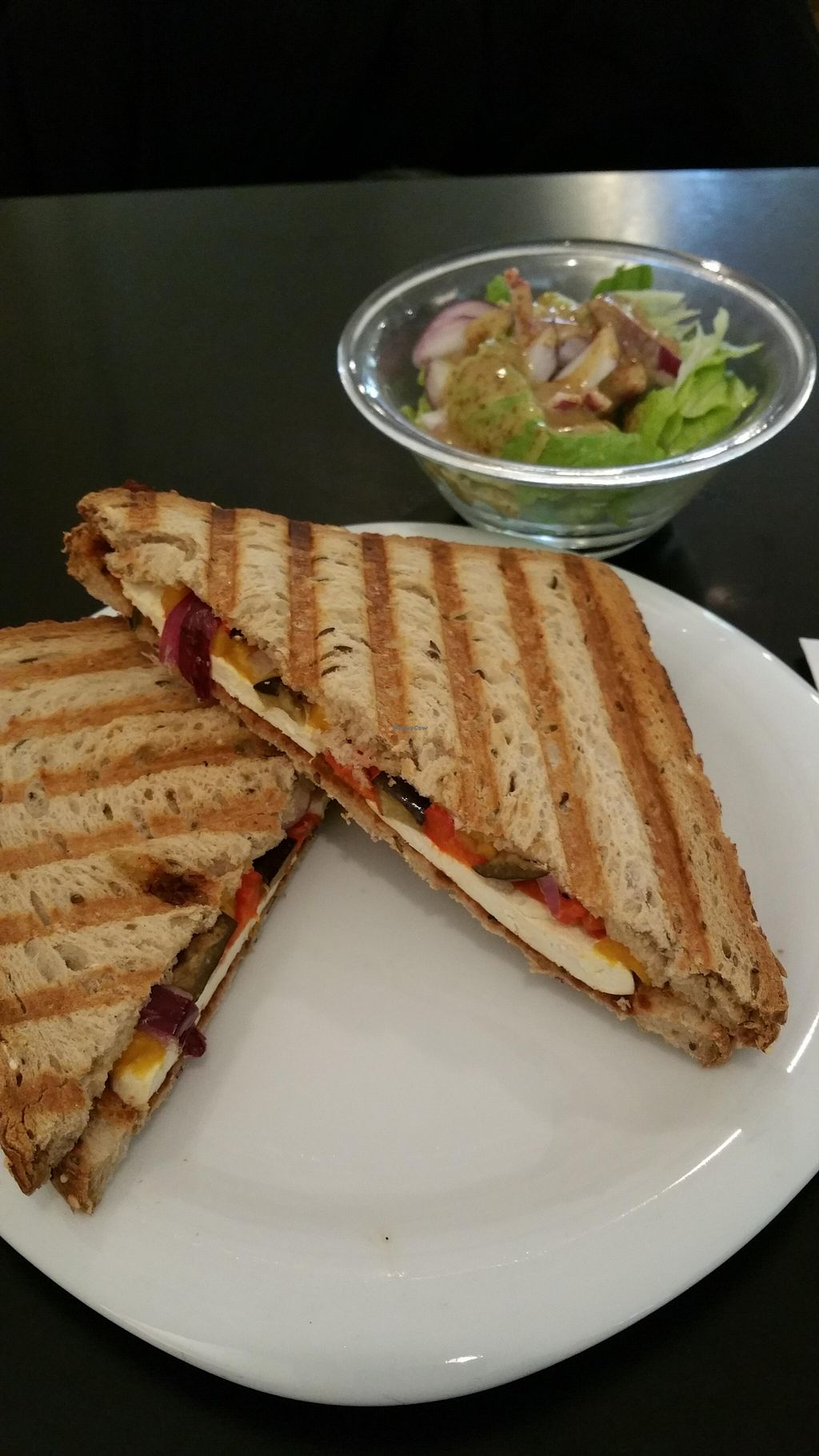 """Photo of Bookworm - Mazeh  by <a href=""""/members/profile/Brok%20O.%20Lee"""">Brok O. Lee</a> <br/>Vegan grilled sandwich <br/> December 23, 2015  - <a href='/contact/abuse/image/44451/129570'>Report</a>"""
