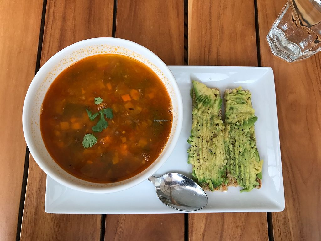 "Photo of Bulali  by <a href=""/members/profile/Longina"">Longina</a> <br/>Lentil soup & avocado toast <br/> August 24, 2017  - <a href='/contact/abuse/image/44470/296754'>Report</a>"