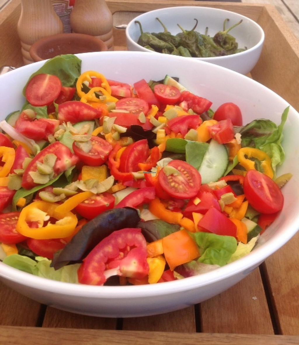 """Photo of Sun Yoga KL Cafe  by <a href=""""/members/profile/SunYogaKLcafe"""">SunYogaKLcafe</a> <br/>Colourful Spanish salad <br/> January 6, 2014  - <a href='/contact/abuse/image/44479/61938'>Report</a>"""