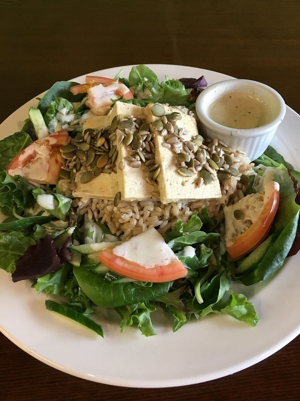 """Photo of Sejuiced  by <a href=""""/members/profile/vegan%20frog"""">vegan frog</a> <br/>Bowl with Gf option sauce <br/> May 20, 2017  - <a href='/contact/abuse/image/4451/260720'>Report</a>"""