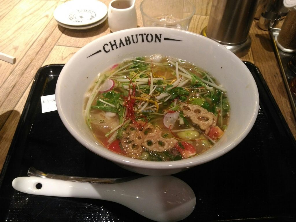 "Photo of Chabuton  by <a href=""/members/profile/doci"">doci</a> <br/>veggie ramen <br/> February 1, 2018  - <a href='/contact/abuse/image/44525/353377'>Report</a>"