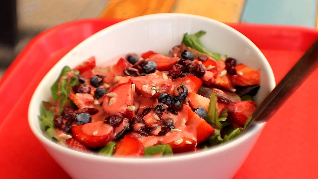 """Photo of Veggie Smalls  by <a href=""""/members/profile/Sanothir"""">Sanothir</a> <br/>Berry salad <br/> June 10, 2017  - <a href='/contact/abuse/image/44529/267586'>Report</a>"""
