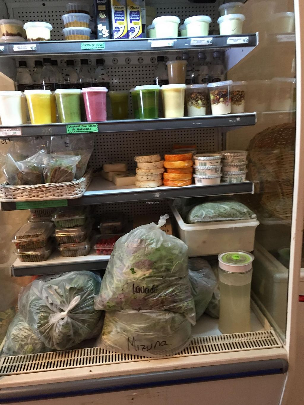 """Photo of Mercado Verde  by <a href=""""/members/profile/cuckooworld"""">cuckooworld</a> <br/>Fridge with ready vegetable drinks and other cold produce <br/> February 20, 2015  - <a href='/contact/abuse/image/44537/93596'>Report</a>"""