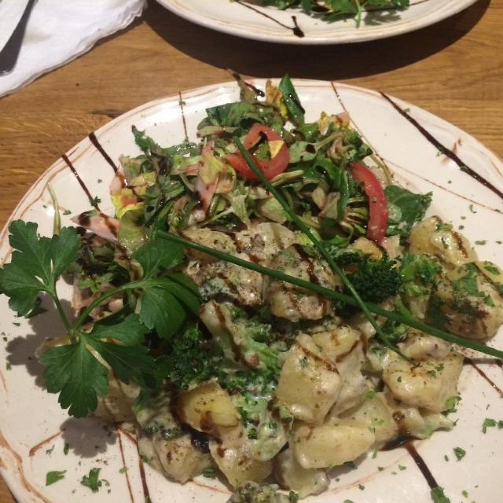 """Photo of Vengo Die Gemusekuche  by <a href=""""/members/profile/bencamps"""">bencamps</a> <br/>Potato and broccoli casserole <br/> July 10, 2014  - <a href='/contact/abuse/image/44543/73633'>Report</a>"""