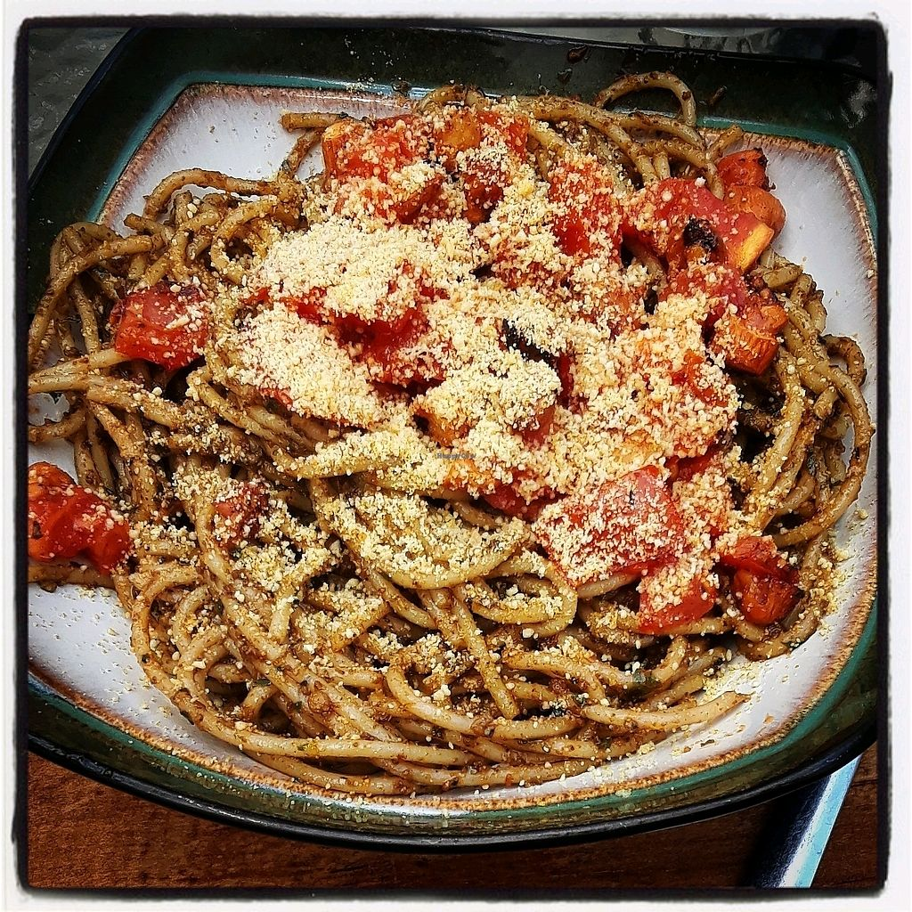 """Photo of Te Quiero Verde  by <a href=""""/members/profile/Yona"""">Yona</a> <br/>pesto pasta  <br/> December 7, 2017  - <a href='/contact/abuse/image/44547/333262'>Report</a>"""