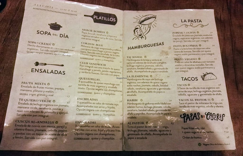 """Photo of Te Quiero Verde  by <a href=""""/members/profile/Caroly"""">Caroly</a> <br/>The menu: They have also a second one for even more drinks :) <br/> January 15, 2018  - <a href='/contact/abuse/image/44547/346775'>Report</a>"""