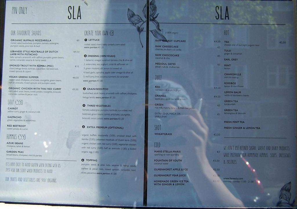 """Photo of SLA - Westerstraat  by <a href=""""/members/profile/Amy1274"""">Amy1274</a> <br/>Menu, July 2014 <br/> July 20, 2014  - <a href='/contact/abuse/image/44552/74511'>Report</a>"""