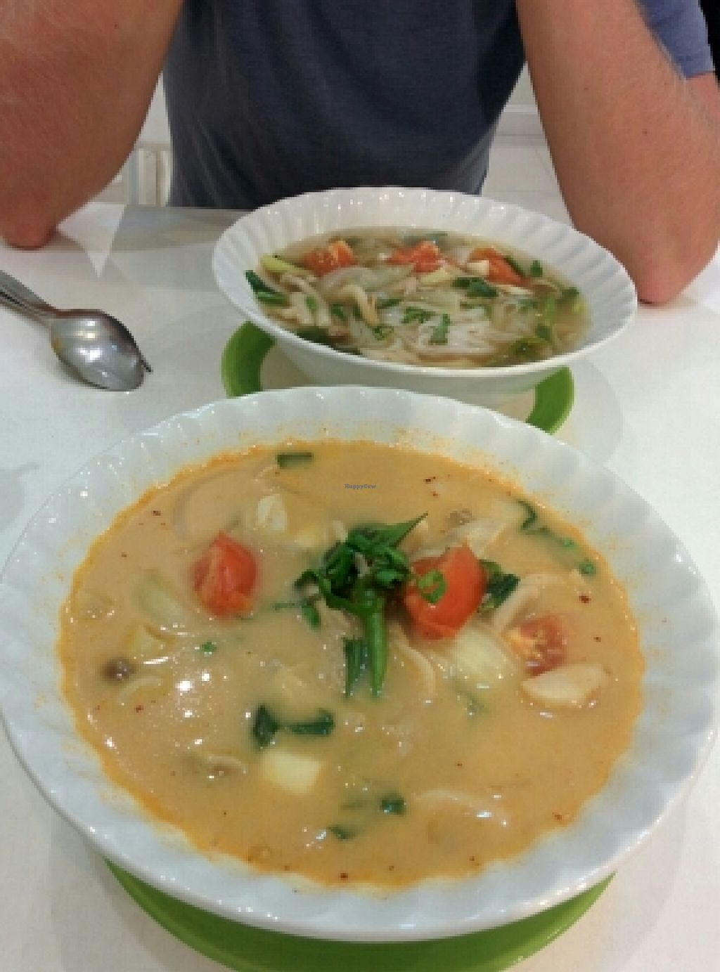 "Photo of Kin-Lum Vegetarian  by <a href=""/members/profile/uschiverena"">uschiverena</a> <br/>tom yum with coconut milk  <br/> November 23, 2015  - <a href='/contact/abuse/image/44557/125943'>Report</a>"