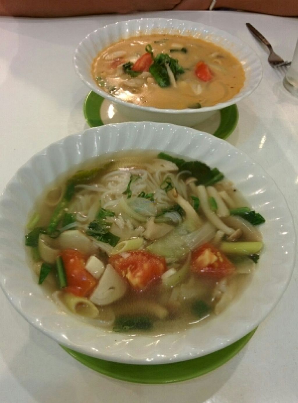 "Photo of Kin-Lum Vegetarian  by <a href=""/members/profile/uschiverena"">uschiverena</a> <br/>tom yum with rice noodles <br/> November 23, 2015  - <a href='/contact/abuse/image/44557/125944'>Report</a>"