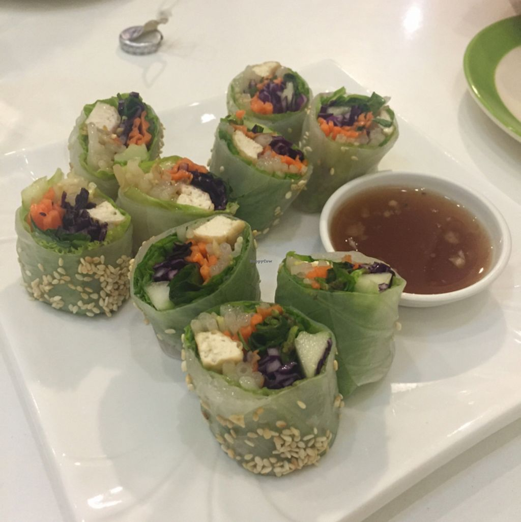 "Photo of Kin-Lum Vegetarian  by <a href=""/members/profile/kgriffithg"">kgriffithg</a> <br/>veggie fresh spring rolls <br/> December 23, 2015  - <a href='/contact/abuse/image/44557/129576'>Report</a>"