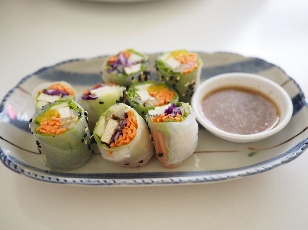 "Photo of Kin-Lum Vegetarian  by <a href=""/members/profile/Optimaprima"">Optimaprima</a> <br/>Vegan rice rolls  <br/> March 16, 2017  - <a href='/contact/abuse/image/44557/237016'>Report</a>"