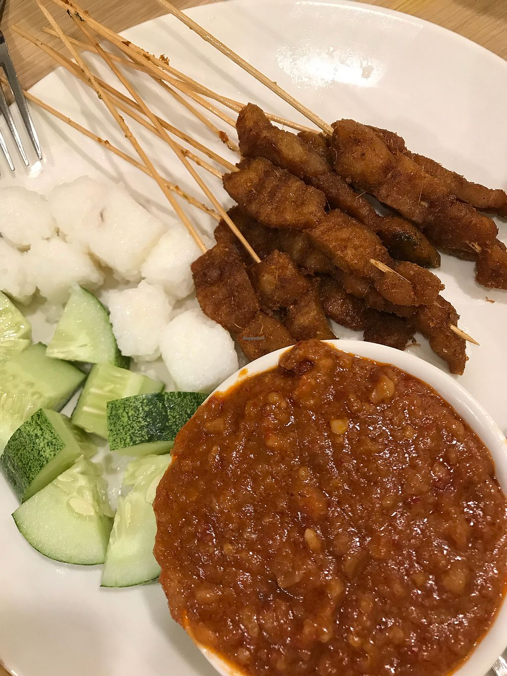 "Photo of Gokul Vegetarian Restaurant and Cafe  by <a href=""/members/profile/gayle81"">gayle81</a> <br/>Yummy satay <br/> December 16, 2017  - <a href='/contact/abuse/image/4455/336043'>Report</a>"