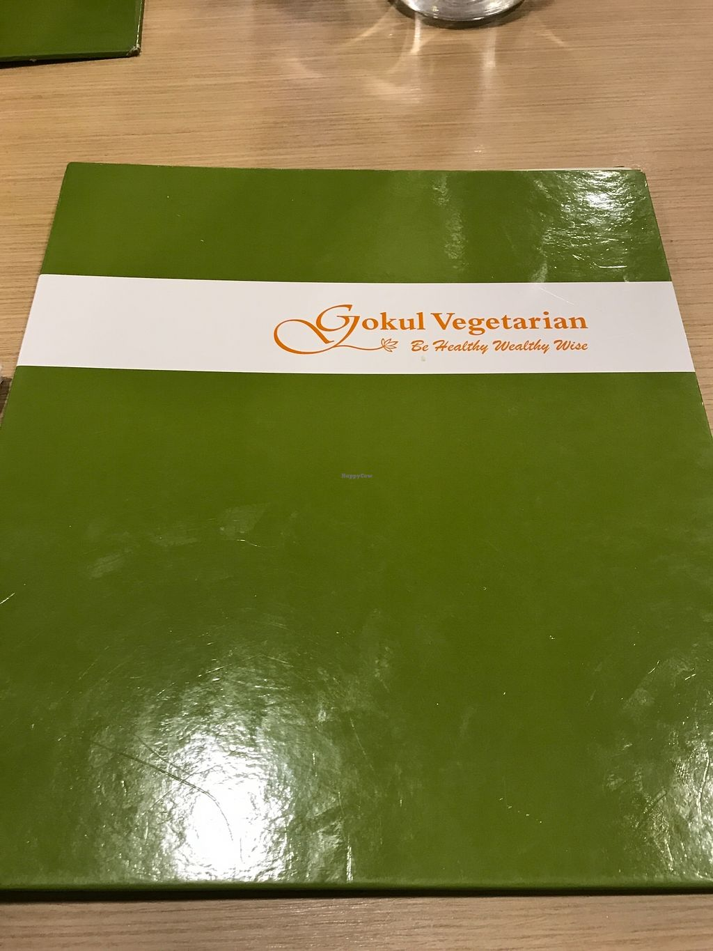 "Photo of Gokul Vegetarian Restaurant and Cafe  by <a href=""/members/profile/Sweetveganneko"">Sweetveganneko</a> <br/>Menu <br/> March 18, 2018  - <a href='/contact/abuse/image/4455/372666'>Report</a>"