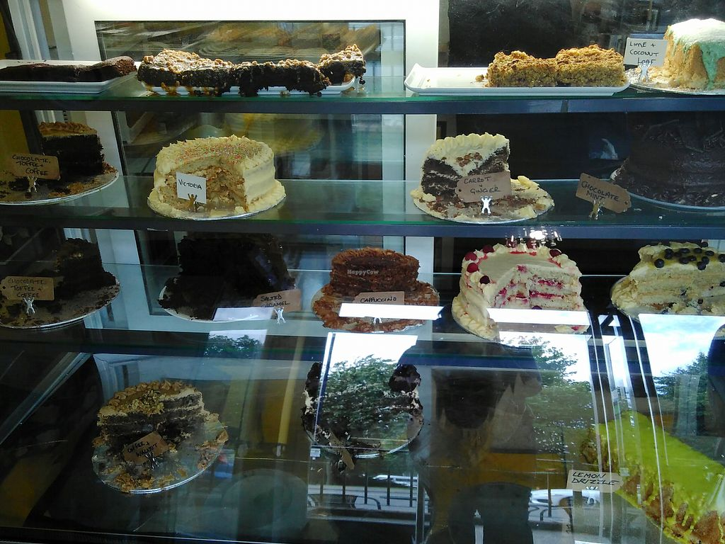 """Photo of Steel City Cakes  by <a href=""""/members/profile/madhatterspantry"""">madhatterspantry</a> <br/>Cake cabinet 1 <br/> August 20, 2017  - <a href='/contact/abuse/image/44574/294635'>Report</a>"""