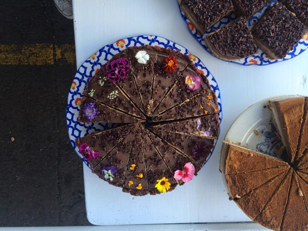 """Photo of Parnell Farmers Market  by <a href=""""/members/profile/mountainfolks"""">mountainfolks</a> <br/>the raw kitchen cake <br/> February 2, 2015  - <a href='/contact/abuse/image/44580/92067'>Report</a>"""