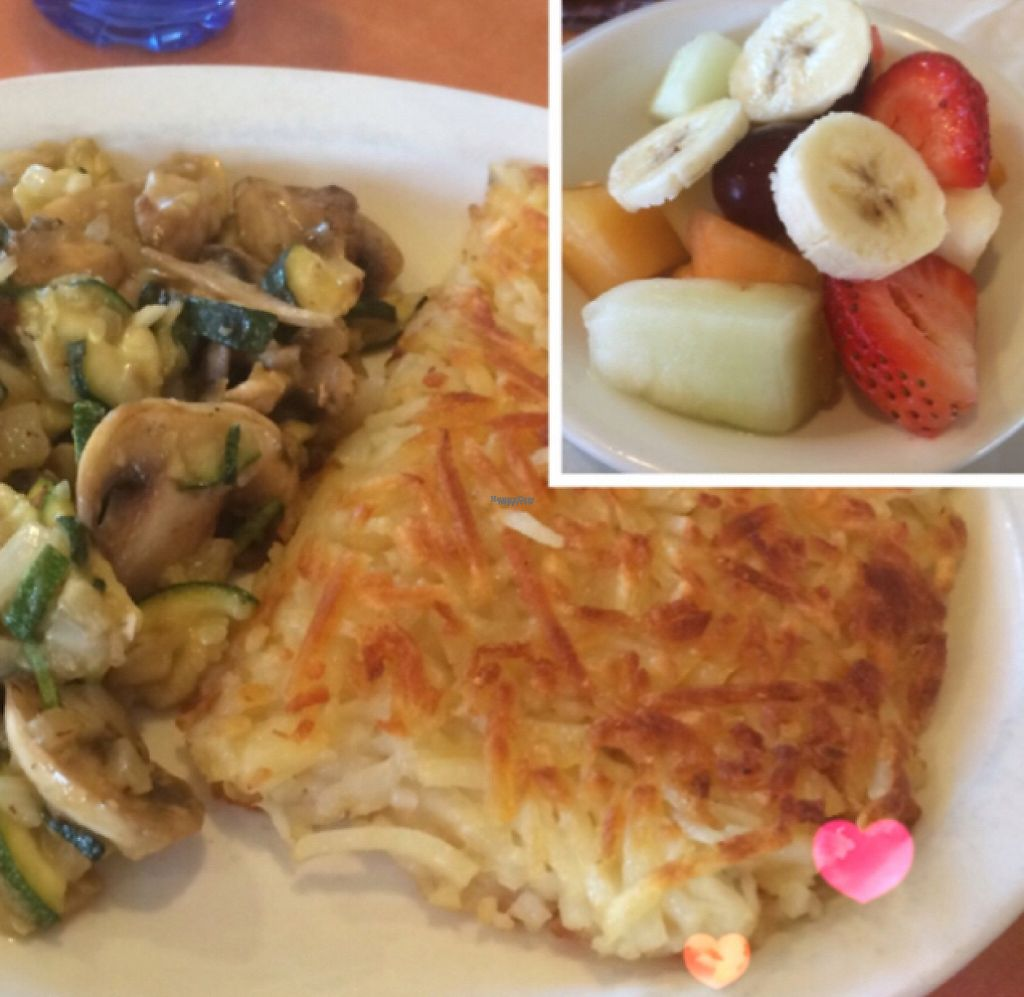 """Photo of Original Breakfast House  by <a href=""""/members/profile/PrecyAnnO%27Rourke"""">PrecyAnnO'Rourke</a> <br/>farmers market from the omelette section. ask for NO eggs, butter and cheese <br/> August 26, 2016  - <a href='/contact/abuse/image/44585/189098'>Report</a>"""