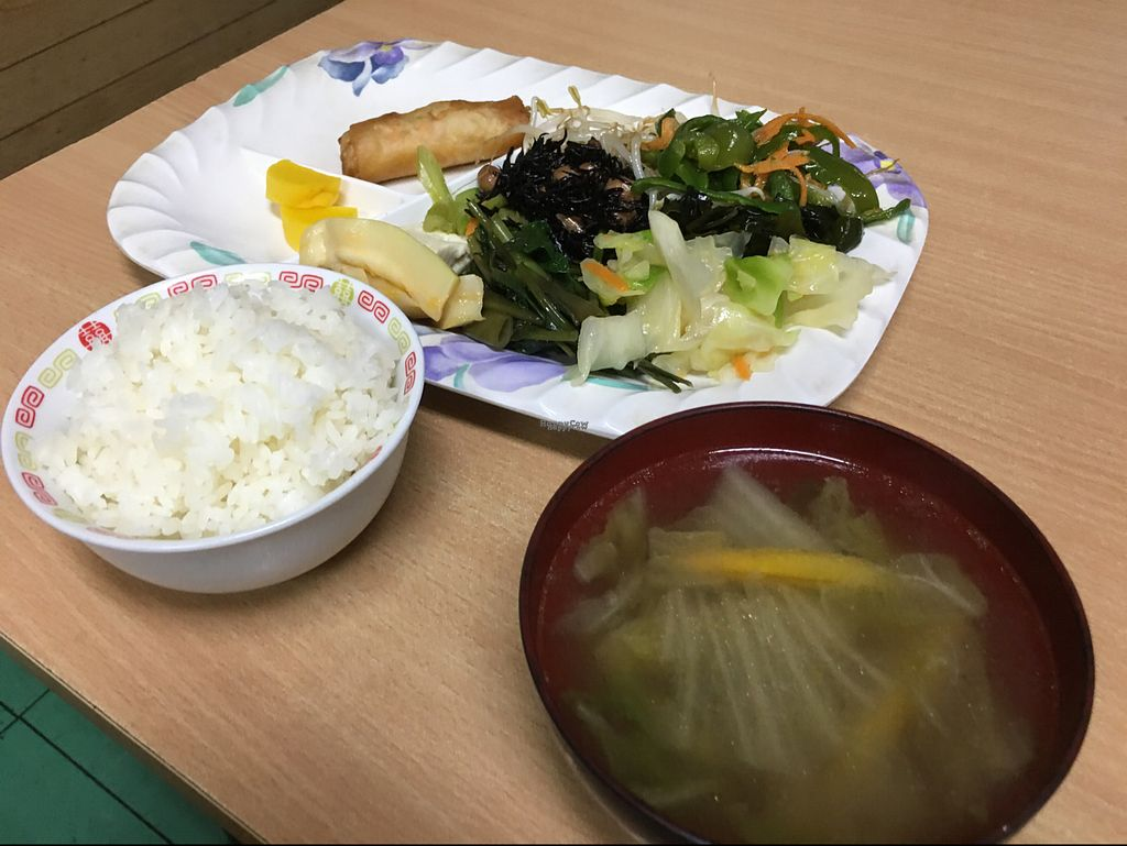 """Photo of Kintsubo Shokudo  by <a href=""""/members/profile/Tomo%20Okabe"""">Tomo Okabe</a> <br/>simple but delicious food you can eat from the morning  <br/> September 12, 2016  - <a href='/contact/abuse/image/44609/175158'>Report</a>"""