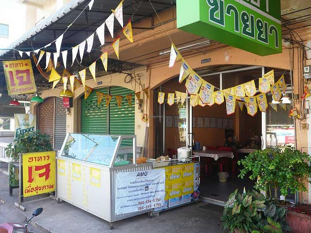 """Photo of Jay - Soi Nong Bua  by <a href=""""/members/profile/The%20Hammer"""">The Hammer</a> <br/>Small Jay shop with the small buffet outside <br/> January 11, 2014  - <a href='/contact/abuse/image/44617/62326'>Report</a>"""