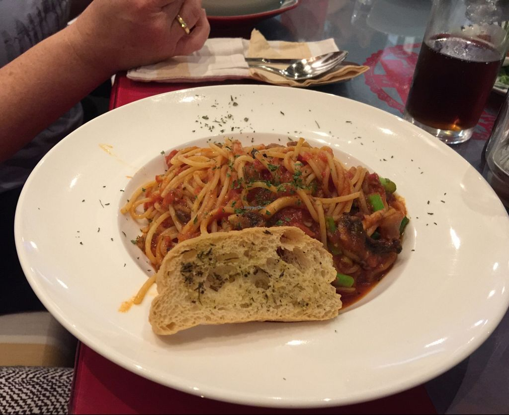"Photo of Loving Hut  by <a href=""/members/profile/macnothi"">macnothi</a> <br/>Pasta Napolitana <br/> January 2, 2016  - <a href='/contact/abuse/image/44628/130709'>Report</a>"
