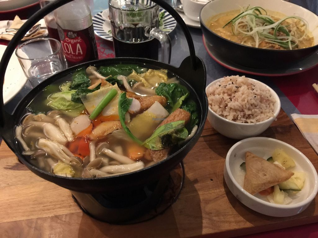 "Photo of Loving Hut  by <a href=""/members/profile/macnothi"">macnothi</a> <br/>Tom Yam hot pot <br/> January 2, 2016  - <a href='/contact/abuse/image/44628/130710'>Report</a>"