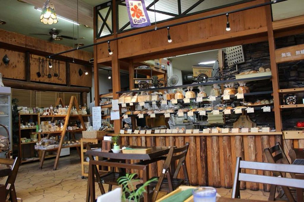 """Photo of CLOSED: Macrovenus and Pan-Yakibito  by <a href=""""/members/profile/kimmyJ"""">kimmyJ</a> <br/>shelves of breads and sweets  <br/> July 9, 2015  - <a href='/contact/abuse/image/44652/108657'>Report</a>"""