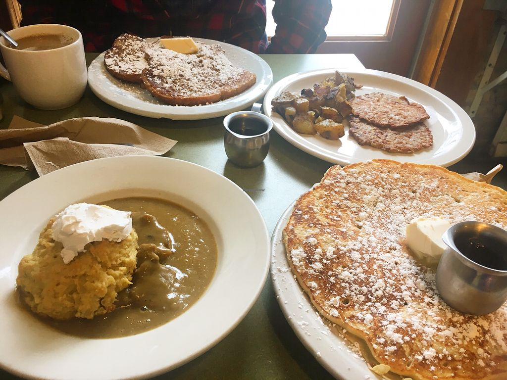 """Photo of Riverwest Co-op Cafe  by <a href=""""/members/profile/SkyFitzgerald"""">SkyFitzgerald</a> <br/>So much food!! <br/> May 20, 2018  - <a href='/contact/abuse/image/4466/402580'>Report</a>"""