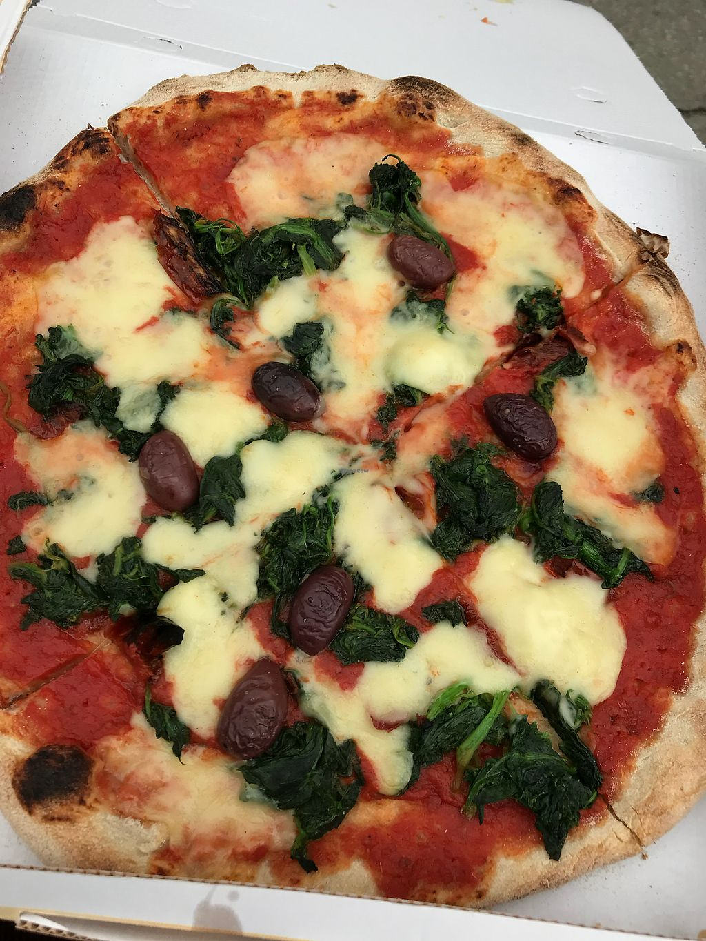 """Photo of Pizzeria L'Angelo  by <a href=""""/members/profile/AbbiCastle"""">AbbiCastle</a> <br/>very gooey! and filling! yummy! <br/> April 16, 2018  - <a href='/contact/abuse/image/44673/386760'>Report</a>"""