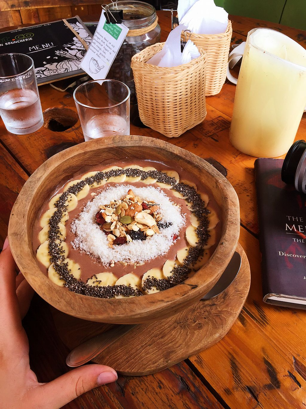 """Photo of Eat Co 2  by <a href=""""/members/profile/candidlylisa"""">candidlylisa</a> <br/>Choco smoothie Bowl <br/> November 28, 2017  - <a href='/contact/abuse/image/44676/329929'>Report</a>"""
