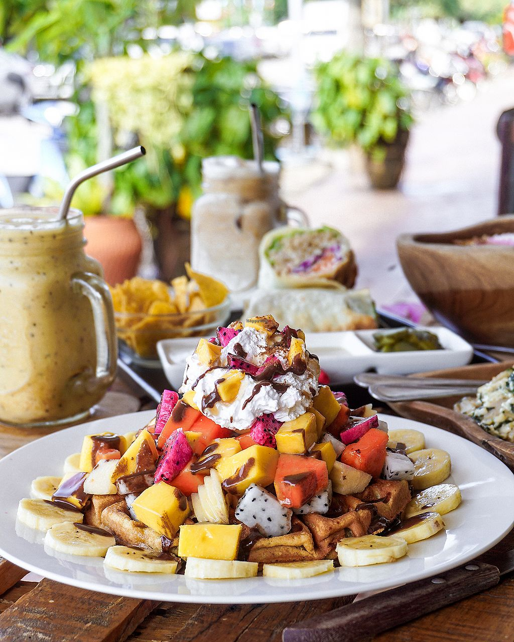 """Photo of Eat Co 2  by <a href=""""/members/profile/KirstenK"""">KirstenK</a> <br/>Waffle heaven <br/> December 16, 2017  - <a href='/contact/abuse/image/44676/336058'>Report</a>"""