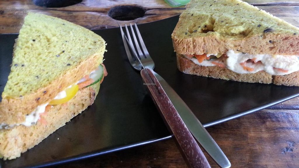 """Photo of Eat Co 2  by <a href=""""/members/profile/eric"""">eric</a> <br/>hummus sandwich <br/> October 30, 2014  - <a href='/contact/abuse/image/44676/84252'>Report</a>"""