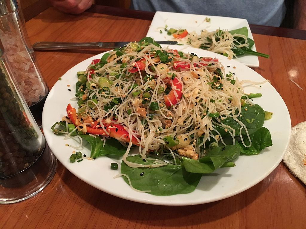 """Photo of Green Leaf  by <a href=""""/members/profile/Mindfs"""">Mindfs</a> <br/>Sesame and cilantro rice vermicelli salad. I will be ordering this again  <br/> February 20, 2018  - <a href='/contact/abuse/image/44678/361511'>Report</a>"""