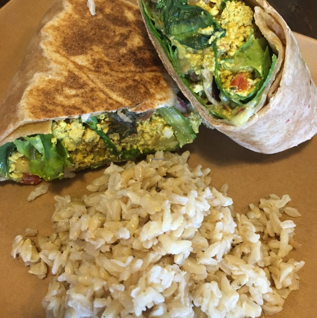 """Photo of CLOSED: Choices Cafe  by <a href=""""/members/profile/Catherinec8"""">Catherinec8</a> <br/>Breakfast burrito. Highly recommend! <br/> July 19, 2016  - <a href='/contact/abuse/image/44707/160948'>Report</a>"""