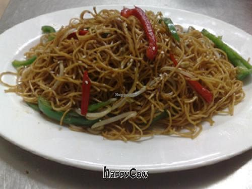 Photo of CLOSED: Authentic Vegetarian Restaurant  by antiparadise <br/>Pan Fried Noodle with Soy Sauce <br/> June 14, 2013  - <a href='/contact/abuse/image/4471/49593'>Report</a>